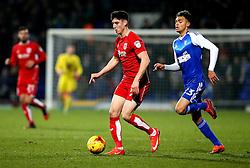 Callum O'Dowda of Bristol City runs past Andre Dozzell of Ipswich Town - Mandatory by-line: Robbie Stephenson/JMP - 30/12/2016 - FOOTBALL - Portman Road - Ipswich, England - Ipswich Town v Bristol City - Sky Bet Championship