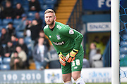 Bury On loan Goalkeeper, Chris Neal during the Sky Bet League 1 match between Bury and Doncaster Rovers at the JD Stadium, Bury, England on 9 April 2016. Photo by Mark Pollitt.