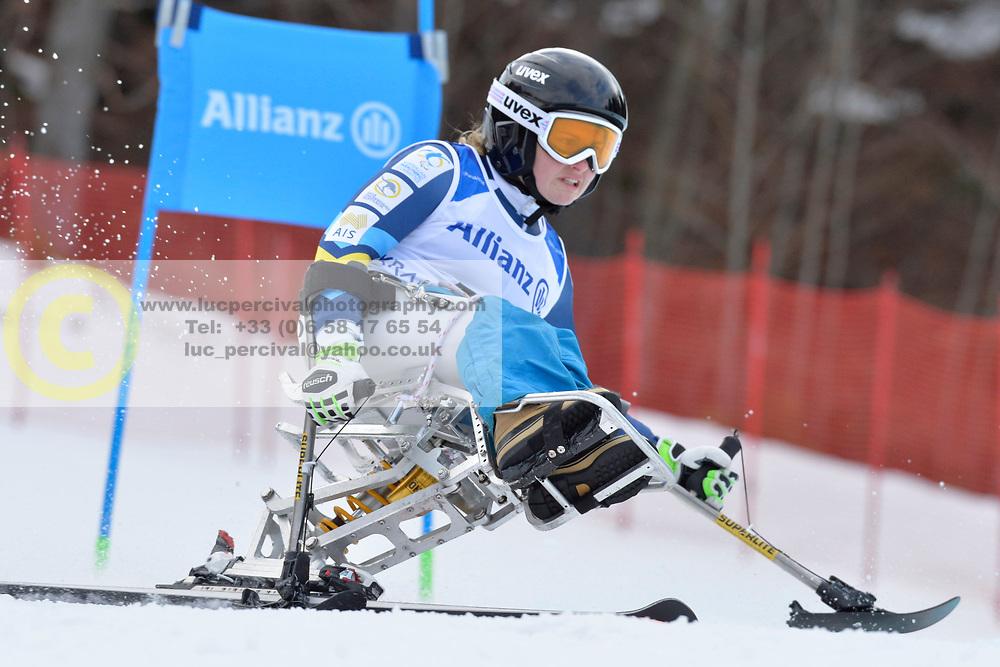 PENDERGAST Victoria LW12-1 AUS at 2018 World Para Alpine Skiing Cup, Kranjska Gora, Slovenia