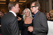 RUPERT PENRY-JONES; KIERA PARKS; BILL NIGHY; , Langham Hotel party after a major renovation. Portland Place, London. 10 June 2009