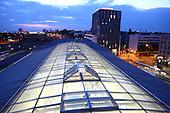 Nachts am Hauptbahnhof