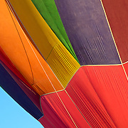 Colorful balloon abstract taken at the Albuquerque Balloon Fiesta