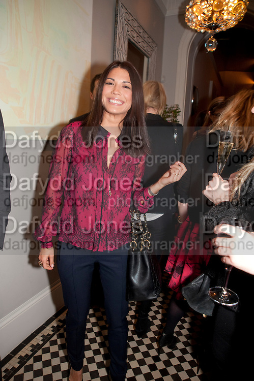 LOHRALEE ASTOR, Party hosted for Jason Wu by Plum Sykes and Christine Al-Bader. Ladbroke Grove. London. 22 March 2011. -DO NOT ARCHIVE-© Copyright Photograph by Dafydd Jones. 248 Clapham Rd. London SW9 0PZ. Tel 0207 820 0771. www.dafjones.com.