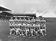 All Ireland Senior Hurling Championship Final,.04.09.1960, 09.04.1960, 4th September 1960,.Minor Tipperary v Kilkenny, .Senior Wexford v Tipperary, Wexford 2-15 Tipperary 0-11,..Wexford Team.. 04091960AISHCF,..Hurling - Incorrect Folder