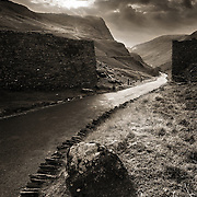 The Honister pass, Buttermere, Cumbria