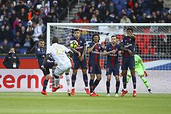 May 4, 2019 - Paris, France - Malang Sarr ( Nice ) vs Marco Verratti ( PSG ) / Juan Bernat  Velasco (PSG) / Edinson Cavani ( PSG ) / Julian Draxler ( PSG ) / Presnel Kimpembe  (Credit Image: © Panoramic via ZUMA Press)