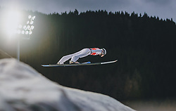 18.01.2020, Hochfirstschanze, Titisee Neustadt, GER, FIS Weltcup Ski Sprung, im Bild Marius Lindvik (NOR) // Marius Lindvik of Norway during the FIS Ski Jumping World Cup at the Hochfirstschanze in Titisee Neustadt, Germany on 2020/01/18. EXPA Pictures © 2020, PhotoCredit: EXPA/ JFK