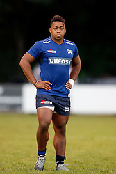 Paulo Odogwu of Sale Sharks - Mandatory by-line: Matt McNulty/JMP - 19 August 2016 - RUGBY - Heywood Road Stadium - Manchester, England - Sale Sharks v Edinburgh Rugby - Pre-Season Friendly