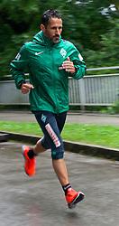 21.07.2014, Parkstadion, Zell am Ziller, AUT, SV Werder Bremen Trainingslager, im Bild Thomas Eichin (Geschaeftsfuehrer Sport SV Werder Bremen) // during the Preparation Camp of the German Bundesliga Club SV Werder Bremen at the Parkstadion in Zell am Ziller, Austria on 2014/07/21. EXPA Pictures © 2014, PhotoCredit: EXPA/ Andreas Gumz<br /> <br /> *****ATTENTION - OUT of GER*****