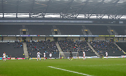 Bristol Rovers fans at Milton Keynes Dons - Mandatory by-line: Robbie Stephenson/JMP - 03/03/2018 - FOOTBALL - Stadium MK - Milton Keynes, England - Milton Keynes Dons v Bristol Rovers - Sky Bet League One