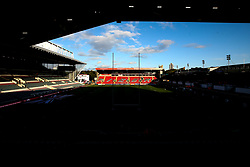 A general view of Welford Road, home to Leicester Tigers - Mandatory by-line: Robbie Stephenson/JMP - 27/09/2019 - RUGBY - Welford Road - Leicester, England - Leicester Tigers v Exeter Chiefs - Premiership Rugby Cup