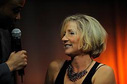 13-12-2010 ALGEMEEN: TOPSPORT GALA AMSTERDAM: AMSTERDAM<br /> In de Westergasfabriek werd het gala van de beste sportman, -vrouw, coach en ploeg gekozen / Susannah Chayes (roeien) gekozen tot beste coach<br /> ©2010-WWW.FOTOHOOGENDOORN.NL