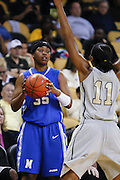 March 3, 2011: Memphis forward Nicole Dickson (35) looks for a player to inbound the ball too during first half womens Conference USA NCAA basketball game action between the Memphis Lady Tigers and the Central Florida Knights at the UCF Arena Orlando, Fl.