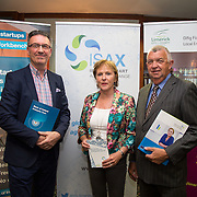 17.05.2016               <br /> A seminar focused on a Start your Own Business programme, targeted at mature entrepreneurs aged 55 plus took place in the Savoy Hotel, Limerick on Tuesday evening, 17 May.  Called Ingenuity, the programme, led by the Ireland Smart Ageing Exchange (ISAX) and sponsored by Bank of Ireland will be run in collaboration with the Local Enterprise Office in Limerick, and will take place over eight weeks, starting in late September 2016.  The seminar provided detailed information on the Start your Own Business programme that will seek interest from those looking to set up both lifestyle and fast-growth businesses.  <br /> <br /> Pictured at the event are, Pat Carroll, Startup Community Manager Bank of Ireland, Anne Connelly, CEO, Ireland Smart Ageing Exchange and Eamon Ryan, CEO, Local Enterprise Office, Limerick. Picture: Alan Place