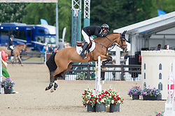 Lamaze Eric, CAN, Fine Lady 5<br /> CSI5* Jumping<br /> Royal Windsor Horse Show<br /> © Hippo Foto - Jon Stroud