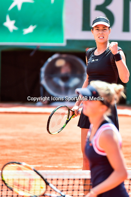 Joie Ana IVANOVIC / Elina SVITOLINA  - 02.06.2015 - Jour 10 - Roland Garros 2015<br />Photo : David Winter / Icon Sport