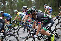 Anouska Koster (NED) of WM3 Pro Cycling Team rides mid-pack on Stage 2 of the Ladies Tour of Norway - a 140.4 km road race, between Sarpsborg and Fredrikstad on August 19, 2017, in Ostfold, Norway. (Photo by Balint Hamvas/Velofocus.com)
