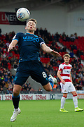 Ollie Clarke of Bristol Rovers gets the ball under control after a throw in during the EFL Sky Bet League 1 match between Doncaster Rovers and Bristol Rovers at the Keepmoat Stadium, Doncaster, England on 19 October 2019.
