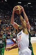 DESCRIZIONE : Milano Lega A 2011-12 EA7 Emporio Armani Milano Montepaschi Siena<br /> GIOCATORE : Omar Cook<br /> CATEGORIA : rimbalzo stoppata<br /> SQUADRA : EA7 Emporio Armani Milano<br /> EVENTO : Campionato Lega A 2011-2012<br /> GARA : EA7 Emporio Armani Milano Montepaschi Siena<br /> DATA : 13/11/2011<br /> SPORT : Pallacanestro<br /> AUTORE : Agenzia Ciamillo-Castoria/GiulioCiamillo<br /> Galleria : Lega Basket A 2011-2012<br /> Fotonotizia : Milano Lega A 2011-12 EA7 Emporio Armani Milano Montepaschi Siena<br /> Predefinita :