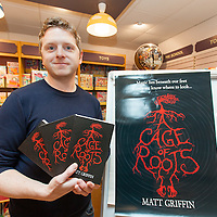 Book Launch at Ennis Book Shop, A Cage of Roots by Matt Griffin