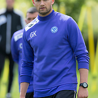 St Johnstone Training,,,,01.07.13<br /> Fitness coach Graham Kirk pictured in training this morning...<br /> Picture by Graeme Hart.<br /> Copyright Perthshire Picture Agency<br /> Tel: 01738 623350  Mobile: 07990 594431