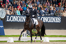 Helgstrand Andreas, DEN, Revolution<br /> World Championship Young Dressage Horses - Ermelo 2019<br /> © Hippo Foto - Dirk Caremans<br /> Helgstrand Andreas, DEN, Revolution
