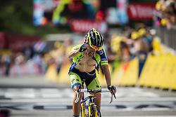 Rafal Majka (POL) of Tinkoff - Saxo wins, Tour de France, Stage 14: Grenoble / Risoul, UCI WorldTour, 2.UWT, Risoul, France, 19th July 2014, Photo by BrakeThrough Media