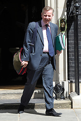 © Licensed to London News Pictures. 26/06/2012. Westminster, UK   Secretary of State for Education MICHAEL GOVE on Downing Street today 26th June 2012. Photo credit : Stephen Simpson/LNP