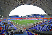 The Macron Stadium before the Sky Bet Championship match between Bolton Wanderers and Preston North End at the Macron Stadium, Bolton, England on 12 March 2016. Photo by Pete Burns.