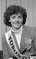 Michelle McDonnell the Toronto Rose, circa August 1985 (Part of the Independent Newspapers Ireland/NLI Colection).