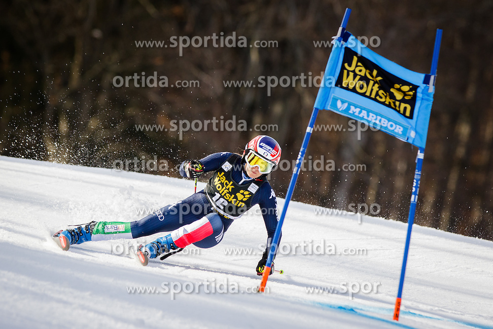Manuela Moelgg (ITA) during 7th Ladies' Giant slalom at 52nd Golden Fox - Maribor of Audi FIS Ski World Cup 2015/16, on January 30, 2016 in Pohorje, Maribor, Slovenia. Photo by Ziga Zupan / Sportida
