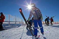 23.10.2015, Rettenbachferner, Soelden, AUT, FIS Weltcup Ski Alpin, Soelden, Vorbereitung, im Bild Michelle Gisin (SUI) waehrend dem Training // during preparation to FIS Ski Alpine World Cup at the Rettenbachferner in Soelden, Austria on 2015/10/23. EXPA Pictures &copy; 2015, PhotoCredit: EXPA/ Freshfocus/ Christian Pfander<br /> <br /> *****ATTENTION - for AUT, SLO, CRO, SRB, BIH, MAZ only*****