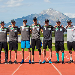 20190425: SLO, Nordic Ski - Practice session of Slovenian Ski Jumping team