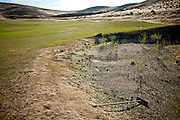 A sand trap on the abandoned D'Andrea Golf Course in Sparks, Nevada, May 22, 2012.