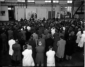 1955 - Aer Lingus special- Mass at Dublin Airport