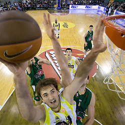 20090108: Basketball - Euroleague, KK Union Olimpija vs Fenerbahce Ulker