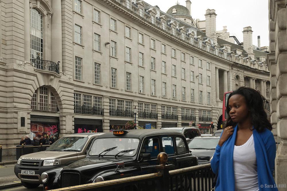 Regent Street, Piccadilly Circus, London, England, UK, Europe