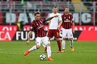 Milano - 01.10.2017 -   Milan-Roma - Serie A 7a giornata   - nella foto:  Lucas Biglia