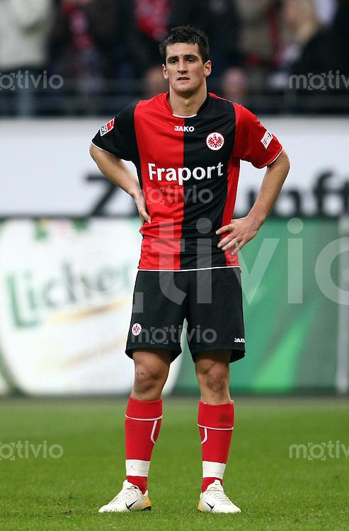 FUSSBALL   1. BUNDESLIGA   SAISON 2007/2008   21. SPIELTAG Eintracht Frankfurt - Werder Bremen Martin FENIN (Eintracht Frankfurt), enttaeuscht nach einer vergebenen Torchance.
