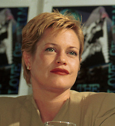 Feb 02, 1996; Miami, Florida, USA; MELANIE GRIFFITH at the 'Two Much' press conference during the 13th Miami Film Festival..  (Credit Image: Peter Stachiw/ZUMAPRESS.com)
