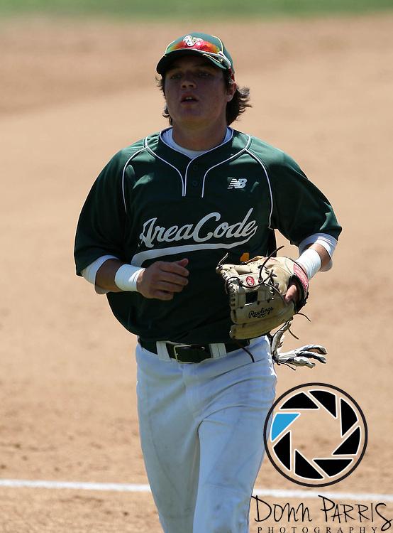Kyle Czaplak 2012 Area Code Baseball, Blair Field, Aug 8 2012, Long Beach CA (Donn Parris)