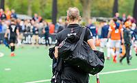BLOEMENDAAL -  Teun Rohof (Adam) na Hoofdklasse hockey Bloemendaal-Amsterdam (4-2) . COPYRIGHT KOEN SUYK