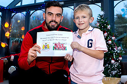 Marlon Pack of Bristol City gives out presents during Bristol City's visit to the Children's Hospice South West at Charlton Farm - Mandatory by-line: Robbie Stephenson/JMP - 21/12/2016 - FOOTBALL - Children's Hospice South West - Bristol , England - Bristol City Children's Hospice Visit