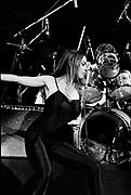 Tom Waits with Rickie Lee Jones backstage - London 1979