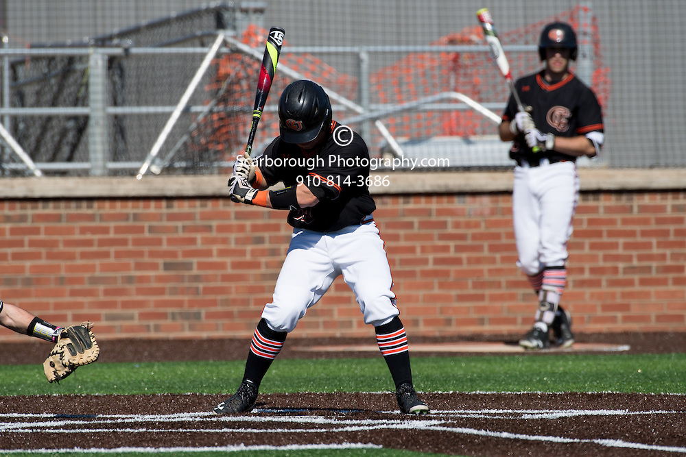 2017 Campbell University Baseball vs Northern Kentucky University<br />  Photo By Bennett Scarborough