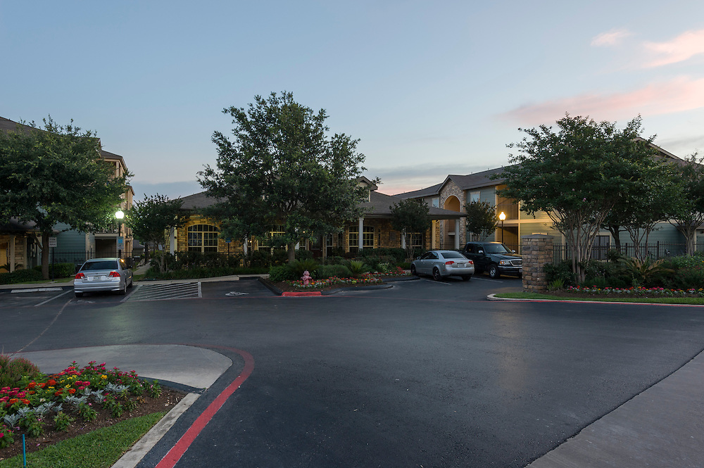 Sunrise Canyon Apartments in Universal City, a suburb of San Antonio, as photographed for Concierge Asset Managment on May 30, 2014.