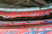 The home of football at Wembley Stadium  during the Friendly International match between England and Nigeria at Wembley Stadium, London, England on 2 June 2018. Picture by Matthew Redman.
