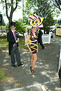 TRACEY ROSE, Royal Ascot. Tuesday. 14 June 2011. <br /> <br />  , -DO NOT ARCHIVE-© Copyright Photograph by Dafydd Jones. 248 Clapham Rd. London SW9 0PZ. Tel 0207 820 0771. www.dafjones.com.