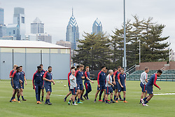 May 22, 2018 - Philadelphia, PA, USA - Philadelphia, PA - May 22, 2018: The USMNT trains at Rhodes Soccer Stadium before an international friendly against Bolivia. (Credit Image: © John Dorton/ISIPhotos via ZUMA Wire)