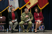 Scenes from the graduation ceremony for Solar Ready Veterans at Fort Drum on Wednesday, February 17, 2016.
